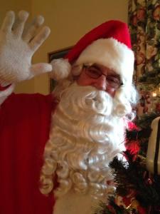 Santa says hello